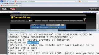Come Scaricare Video Da Youtube Velocemente Senza
