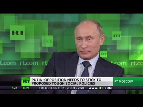 Putin talks NSA, Syria, Iran, drones in exclusive RT interview (FULL VIDEO)