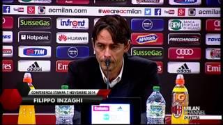 Inzaghi: ''Attenzione alla Sampdoria'' | AC Milan Official