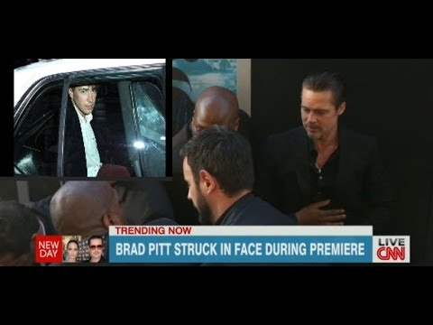 Brad Pitt Punched In Face Paparazzi Vitalii Sediuk Arrested Maleficent Premiere