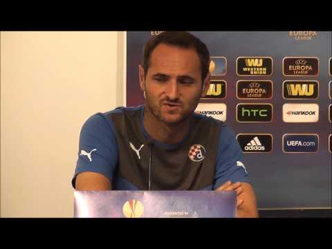 Trener Ivanković i kapetan Šimunić: Najava utakmice s Černomorecom, 18.9.2013.