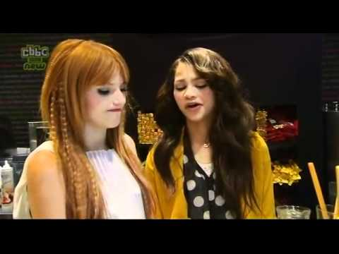 Zendaya and Bella Thorne - Blue Peter 2012