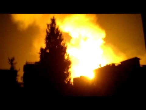 Day 4 of Israel's Aerial Offensive in Gaza