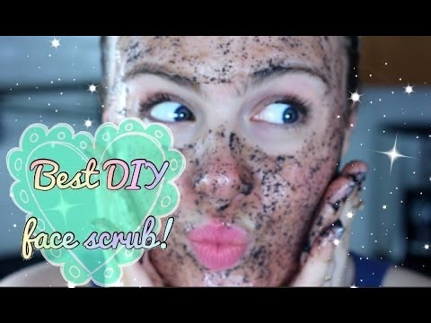 DIY: The Best face scrub ever!