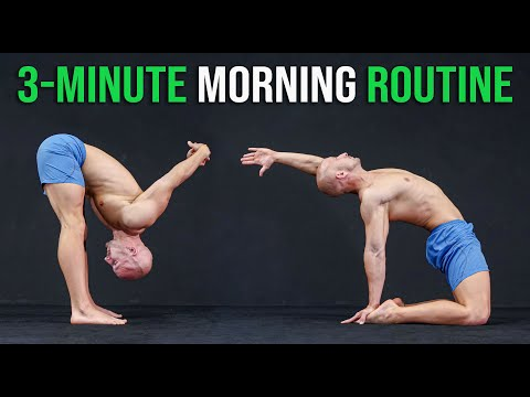 3 Perfect Stretches to Start Your Day!