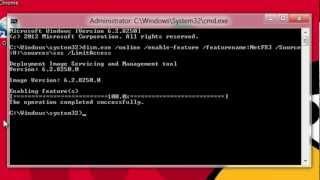Como Instalar Microsoft .Net Framework 4.5 No Windows 8