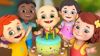 Happy Birthday Song - Party Song - Birthday Wishes - Nursery Rhymes Collection from Jugnu Kids