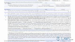 Learn How to Fill the Form 2848 Power of Attorney and Declaration of Representative view on youtube.com tube online.