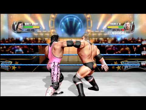 WWE All Stars: Triple H vs Bret Hart - GRAPPLER FULL MATCH