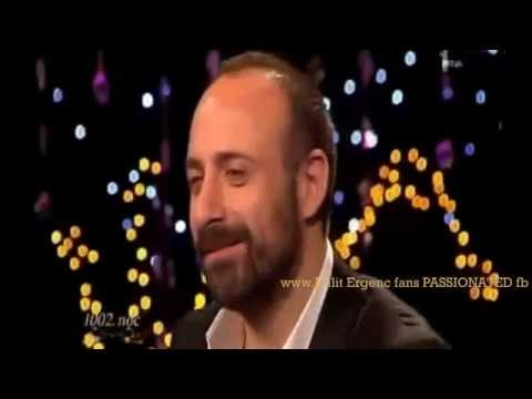 Halit Ergenç....is singing acapella ''Mazi Kalbimde'' Serbia 2010