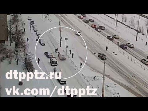 На Лососинском шоссе снова сбили пешехода
