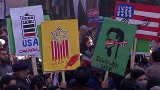 إيران تُحيي ذكرى اقتحام السفارة الأمريكية عام 1979م |