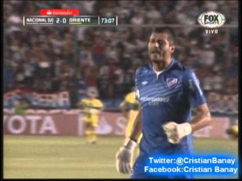 Nacional 2 Oriente Petrolero 0 (Pasion Tricolor ) Copa Libertadores 2014 Los goles