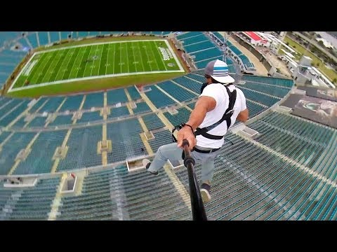 Rope Swing Zipline - NFL Stadium