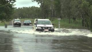 Flooding Around Darwin From Tropical Low, 15th February 2011