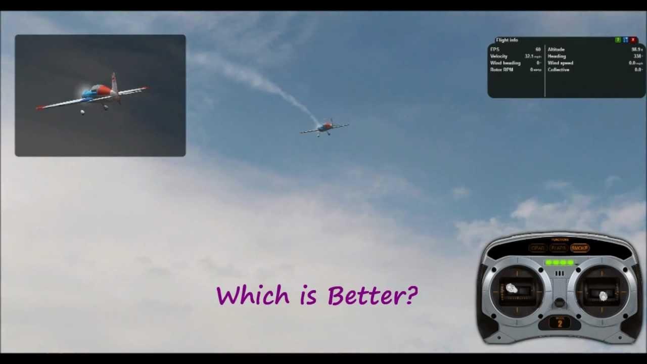 Phoenix 4 vs RealFlight 6.5 RC Flight Simulator Ep #9 ...
