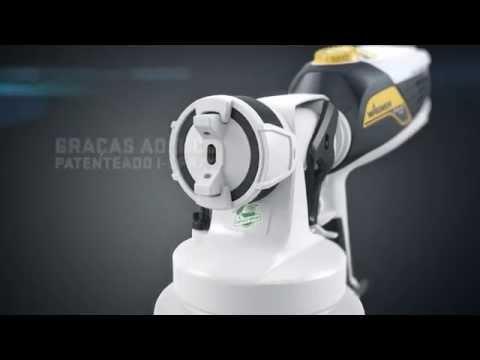 Pistola Pulverizadora Elétrica Flexio W585 I Spray - Wagner