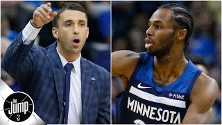 Andrew Wiggins looked like a star in first game under new Timberwolves coach | The Jump