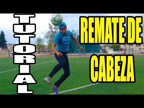 COMO REMATAR/CABECEAR EL BALON COMO CR7 O ZLATAN  - TUTORIALES FUTBOL