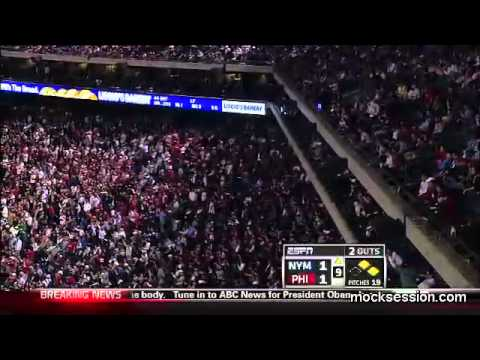 Phillies fans react to Bin Laden news with &quot;USA&quot; chant