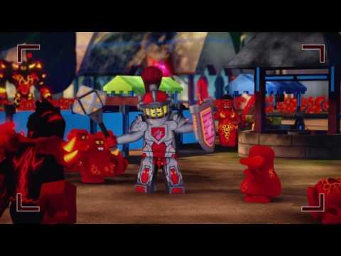 Lego Nexo knights - Kráľovská bitka