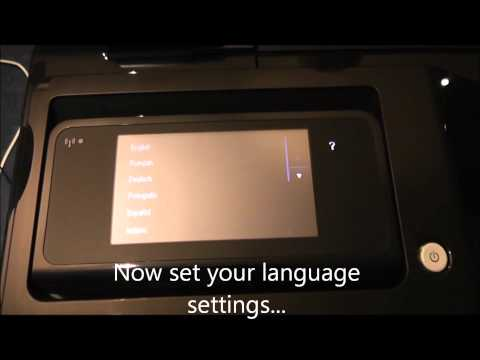 Designjet T520 Series - How to unpack, assemble and set up your printer