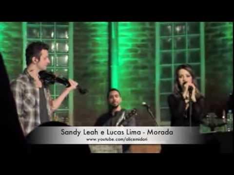 SANDY LEAH e LUCAS LIMA cantam MORADA no Bourbon 12/06/2013