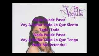 En Mi Mundo-Violetta (Letra)