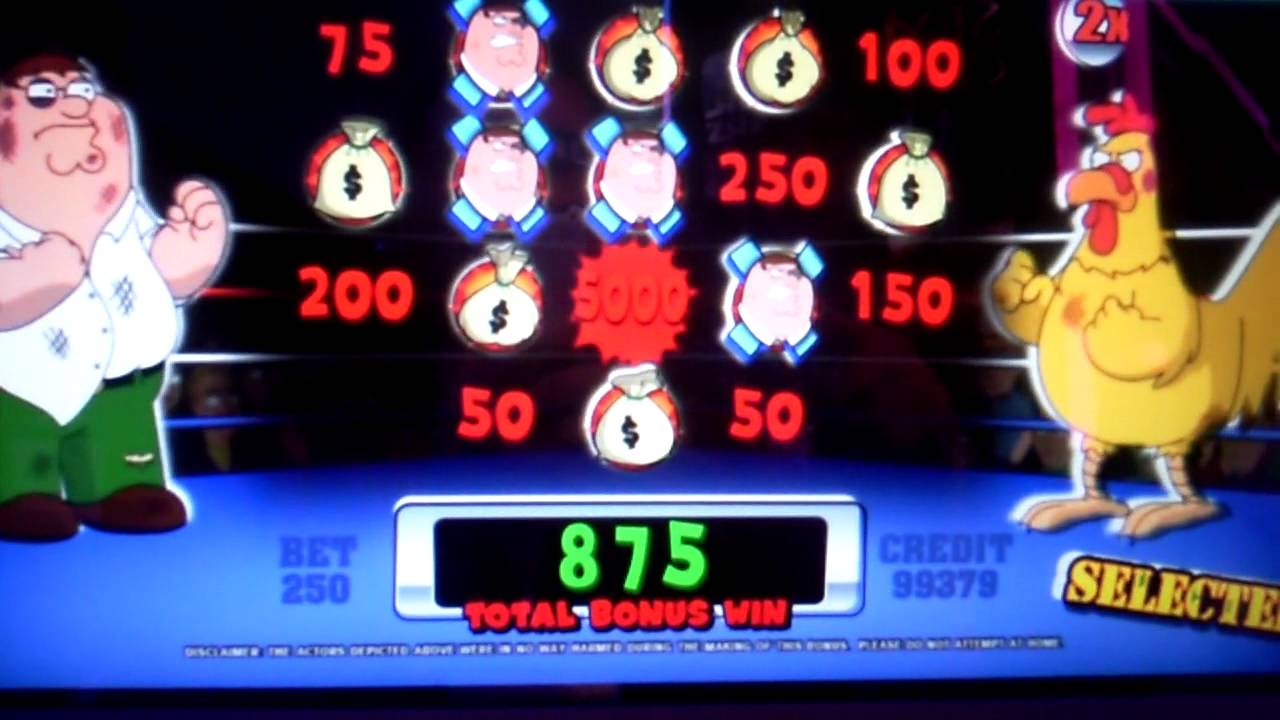 family guy slot machine bonus payouts