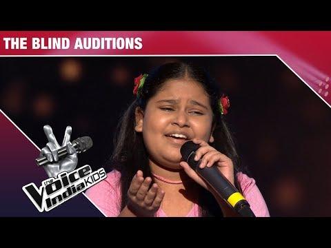 Sneha Performs On Yaad Piya Ki Aaye - Episode 2 - Nov 12, 2017 - The Voice India Kids Season 2