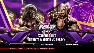 WWE 2K14 Ultimate Warrior Vs Ryback Wrestlemania 30 On