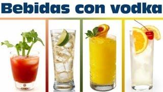 Cocteles con vodka fáciles de preparar