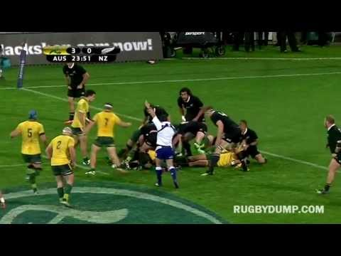 All Blacks vs Wallabies 2nd Test Highlights - Bledisloe Cup/Rugby Championship