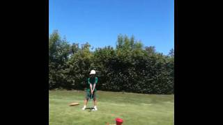 6yo girl play golf as good as Tiger Wood view on youtube.com tube online.