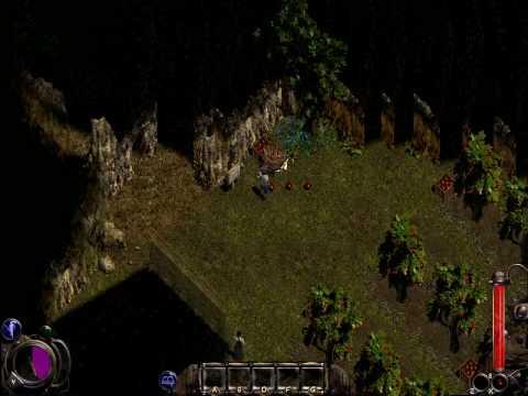 Видеопрохождение игры за воина