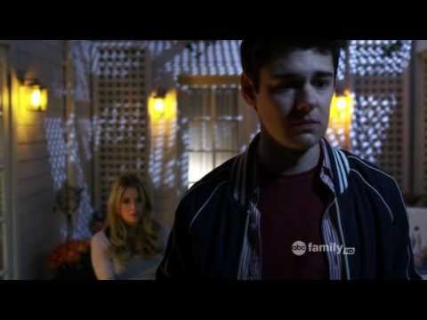 Pretty Little Liars 1x12 &quot;Salt Meets Wound&quot; Hanna and Lucas Scenes