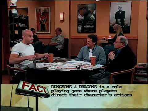 Vin Diesel D D Cake