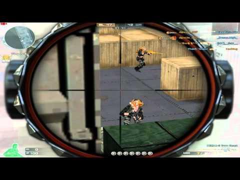 Lại gặp 1 THÁNH Sniper...Đại Uý sử dụng Hack Auto Headshot Vàng