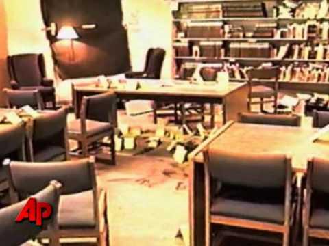 Columbine high school library video