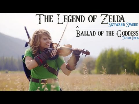 Ballad of the Goddes - Zelda Skyward theme - Taylor Davis