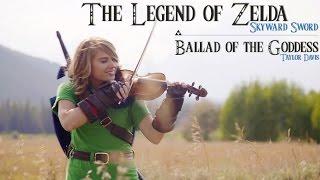 Ballad of the Goddes - Zelda Skyward theme - Taylor Davis