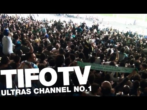 GFB.. . CHEERING ABOUT A GOAL AGAINST BENFICA 04/2013 - Ultras Channel No.1
