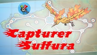 """Comment Capturer SULFURA """" Pokémon X And Y """""""