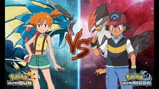 Pokemon Ultra Sun and Ultra Moon: Misty Vs Ash Sinnoh