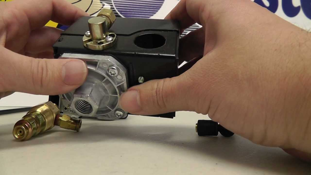 How To Replace A Pressure Switch Unloader Valve