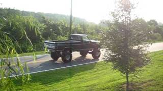 1985 Chevrolet Sliverado Lifted 10 Inches ZZ 383 Straight