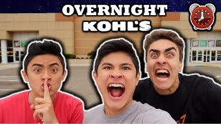 24 HOUR OVERNIGHT CHALLENGE IN KOHL'S!!