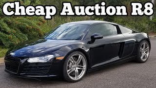 Here's How Much My Salvage Audi R8 Cost & How Much I Will Invest to Rebuild It