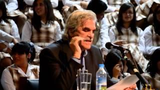 Raúl Pérez Torres en la Tertulia del Mes