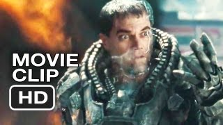 Man Of Steel Official Clip It Hurts, Doesn't It!? (2013